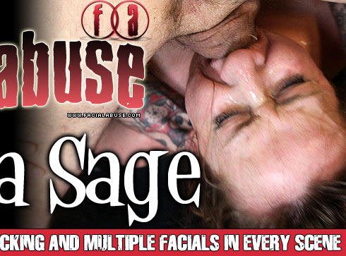 Bianca Sage Degraded on Facial Abuse